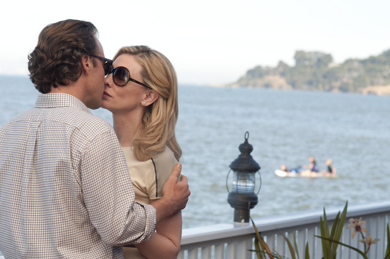 "Peter Sarsgaard and Cate Blanchett in a scene from ""Blue Jasmine."""
