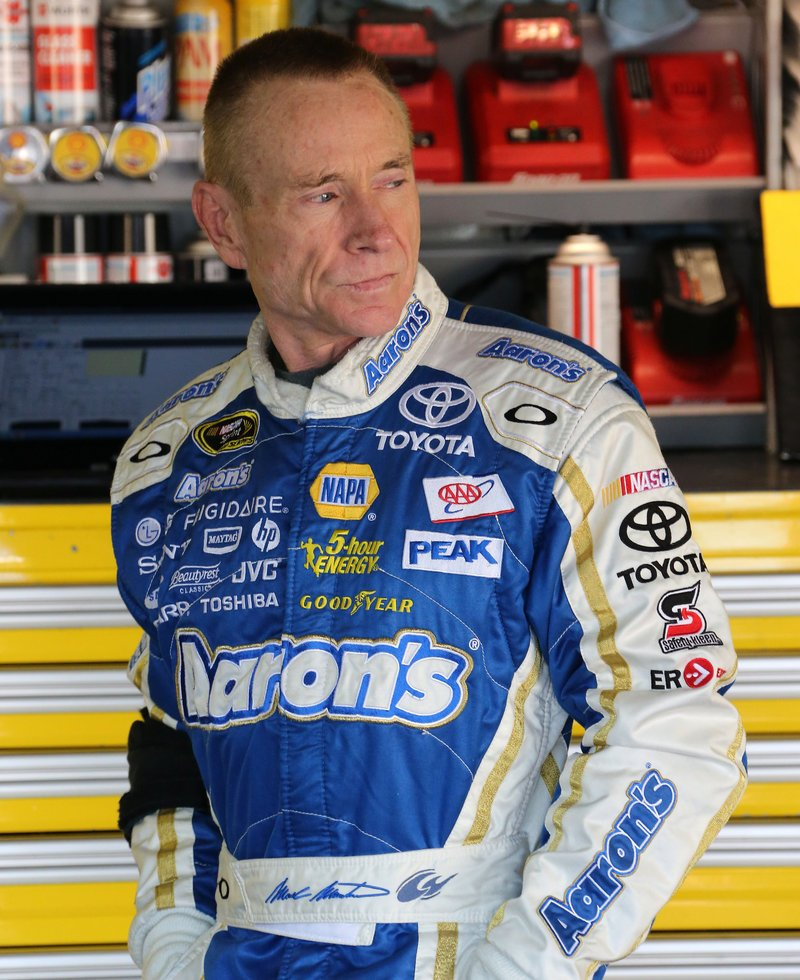 Mark Martin will be filling in for injured Tony Stewart, making the best of a tough situation for Stewart-Haas Racing.