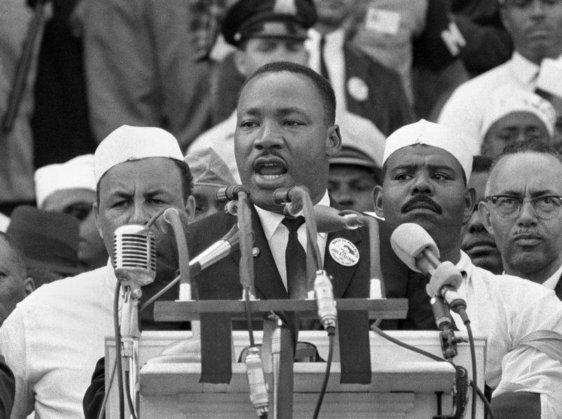 Dr. Martin Luther King Jr. in 1963.