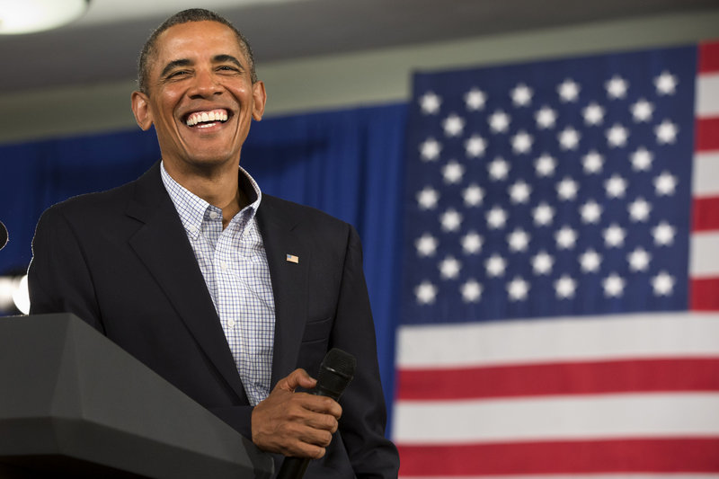 President Obama listens to a question Friday during a town hall meeting at Binghamton University in Vestal, N.Y., where he spoke about affordable college education.
