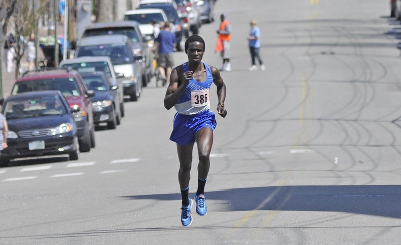 Since moving to Maine less than three years ago, Kenya native Moninda Marube has won numerous road races, including the 2012 Patriots Day 5-Miler in Portland.