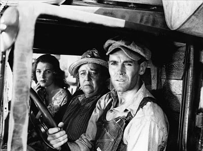 "Henry Fonda as Tom Joad in ""The Grapes of Wrath,"" for which John Ford won the Best Director Oscar in 1941."