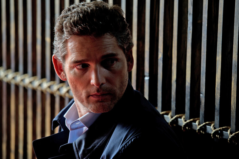 "Eric Bana stars as a London lawyer defending a suspected terrorist bomber in ""Closed Circuit."""