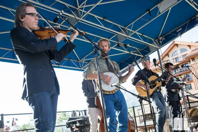 The Steep Canyon Rangers will play on Saturday at Thomas Point Beach in Brunswick as part of the Bluegrass Special festival and on Sunday at the Stone Mountain Arts Center in Brownfield.
