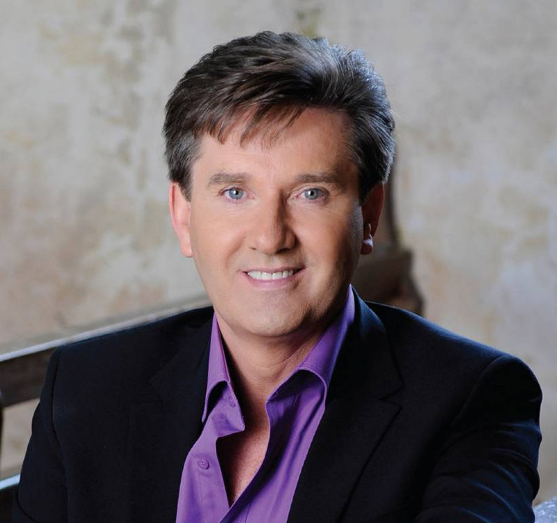 Irish singer Daniel O'Donnell is scheduled to perform at Merrill Auditorium in Portland on Sept. 9.
