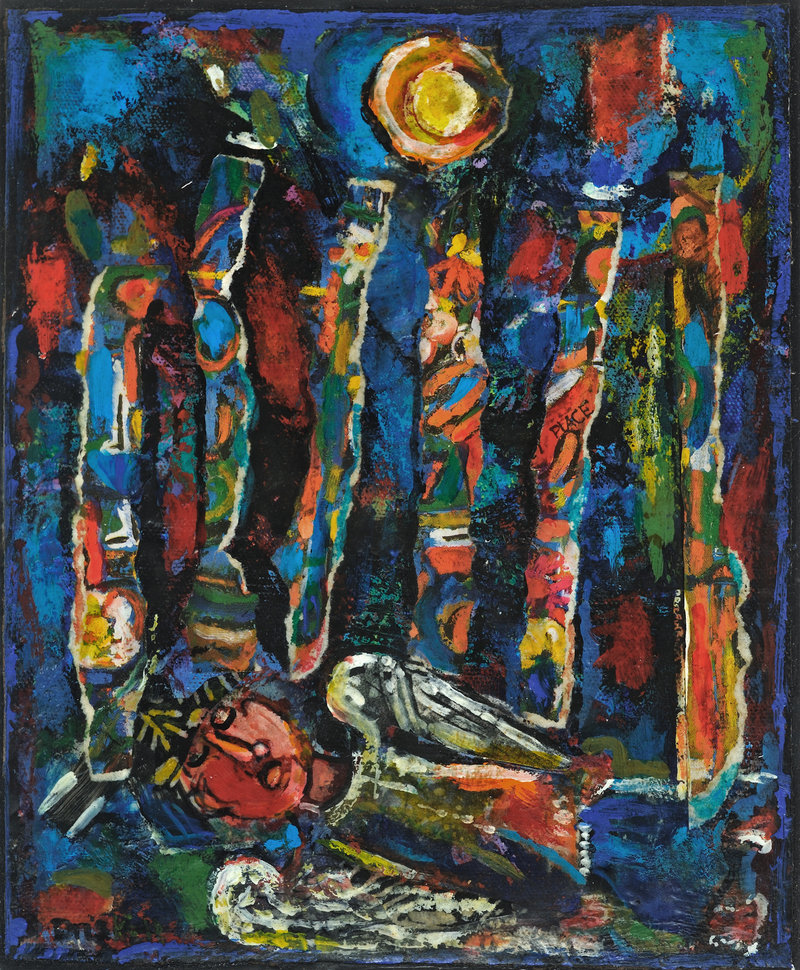 "Daniel Kany's critique of ""Sleeping Angel,"" above, and other paintings by David Driskell is an example of ""constructive and honest"" reviewing that encourages art appreciation, a reader says."