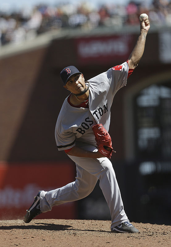 Felix Doubront turned in one of his best outings of the season, going eight strong innings to improve his mark to 9-6. AT&T Park