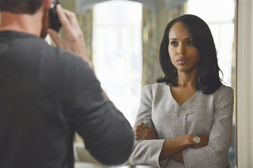 This publicity image released by ABC shows Kerry Washington is in scene from