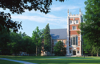 Hubbard Hall at Bowdoin College
