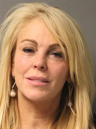 This photo provided by the New York State Police in East Farmingdale, N.Y., shows Dina Lohan after she was arrested late Thursday on aggravated drunken driving charges.