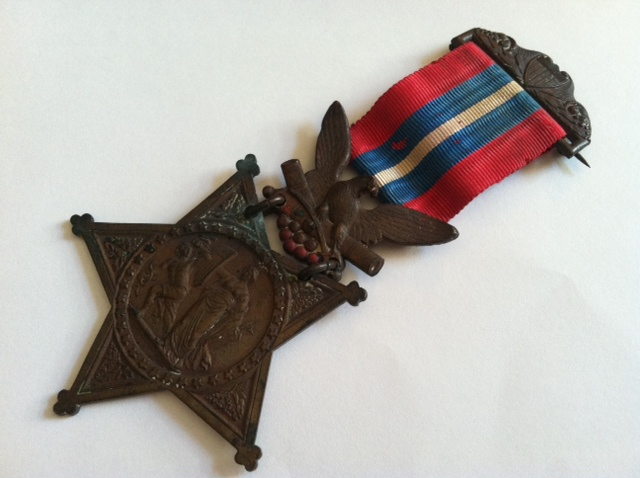 Chamberlain's original Medal of Honor was donated anonymously.