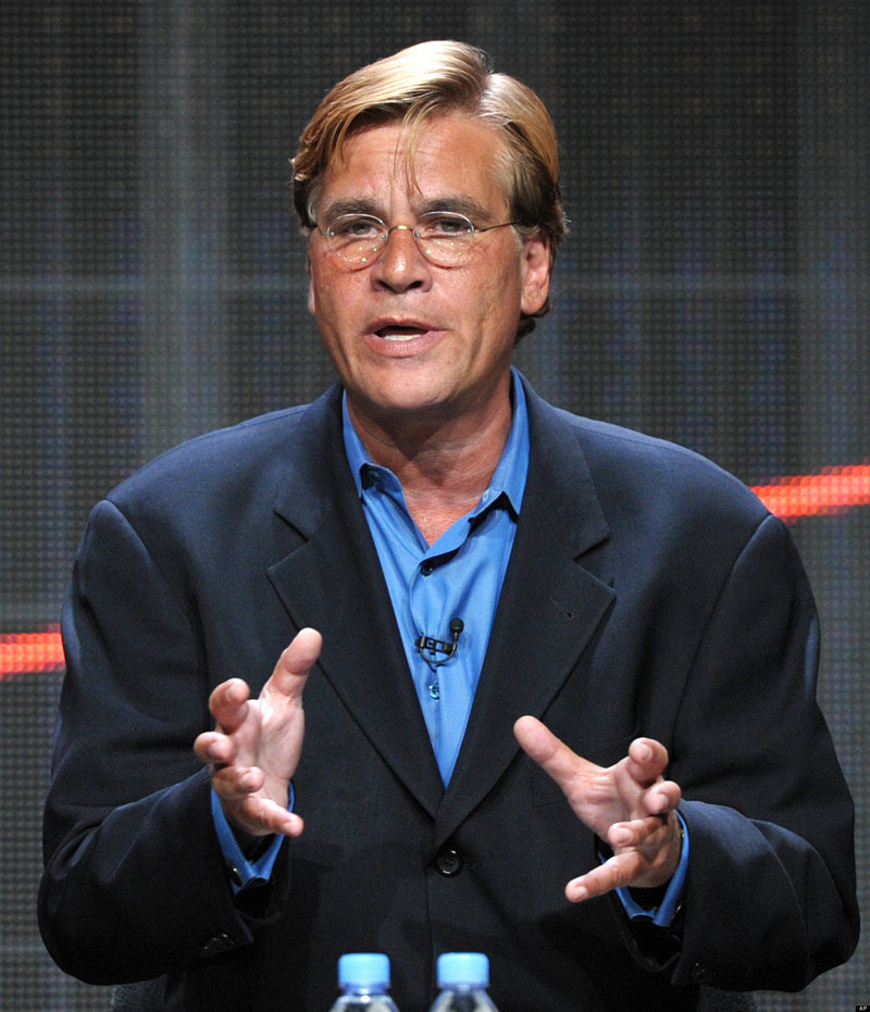 "Aaron Sorkin enlisted 13 consultants to weigh in with their suggestions for ""The Newsroom."""