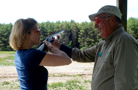 Instruction in shooting – both bullets and arrows – is part of the curriculum at L.L. Bean's Discovery School in Freeport.