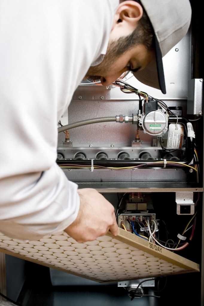 Cleaning or changing the filter in your furnace about every three months can help keep the heating system from breaking down in the middle of winter.