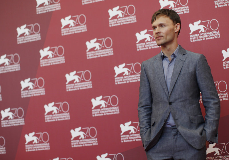 "Actor Scott Haze at the 70th edition of the Venice Film Festival on Saturday, where his film, ""Child of God,"" premiered."
