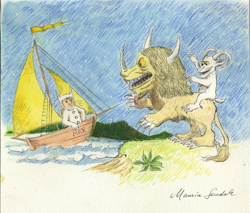Maurice Sendak's fantastical creatures were revolutionary in their day.