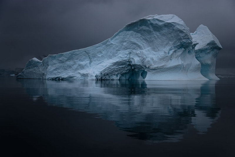 "From ""Mentor,"" ""Antarctica XLII,"" 2007, by John Paul Caponigro."