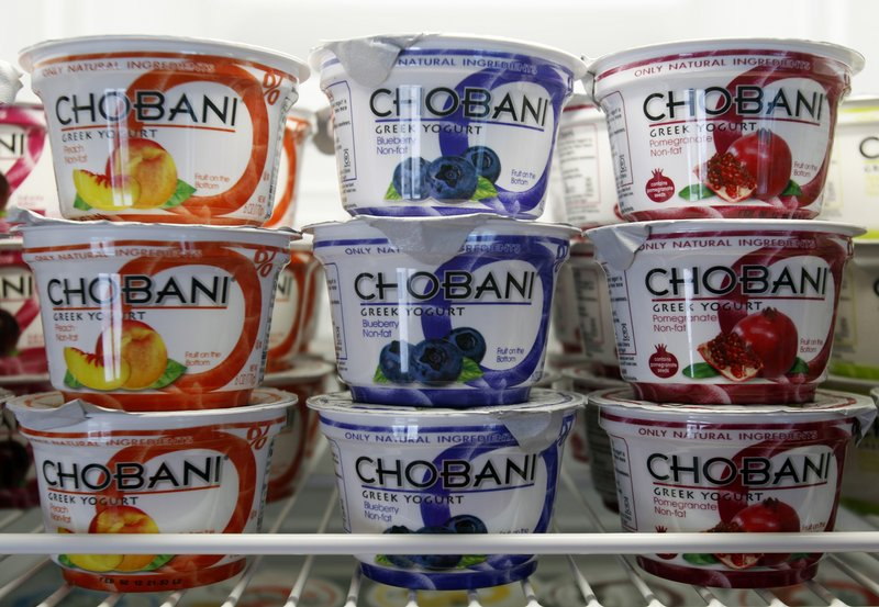 Chobani has asked that recent customers contact its website for a refund following reports that some containers were contaminated by a mold common in dairy operations.