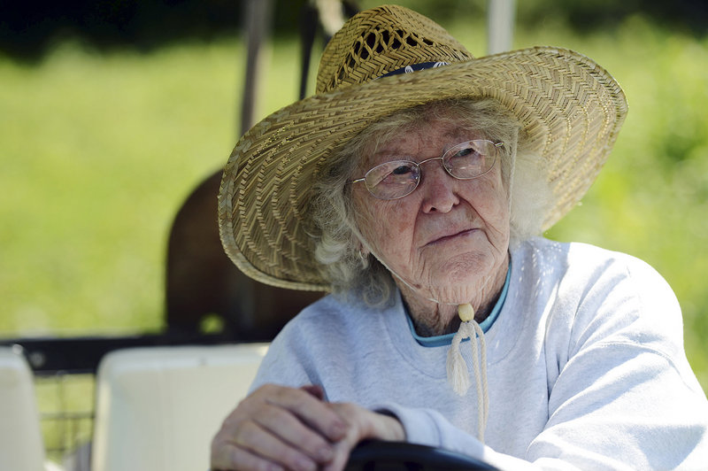 "Louise ""Teddy"" Randall is an 85-year-old Connecticut farmer who is still enjoying the trials and tribulations after 53 years on her land."