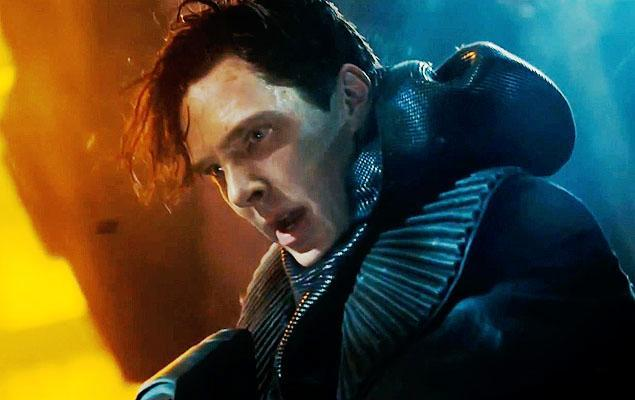 "Cumberbatch as Khan in ""Star Trek Into Darkness."""