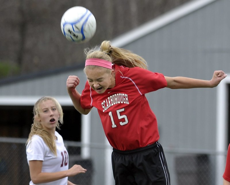 Ainsley Jamieson of Scarborough is a tenacious defender and is a standout player in one-on-one situations.