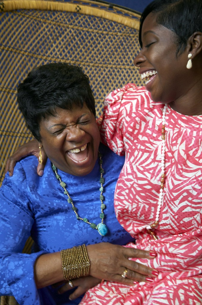 """Tina Fabrique is Ma Rainey and Nyahale Allie is Dussie Mae in """"Ma Rainey's Black Bottom."""""""