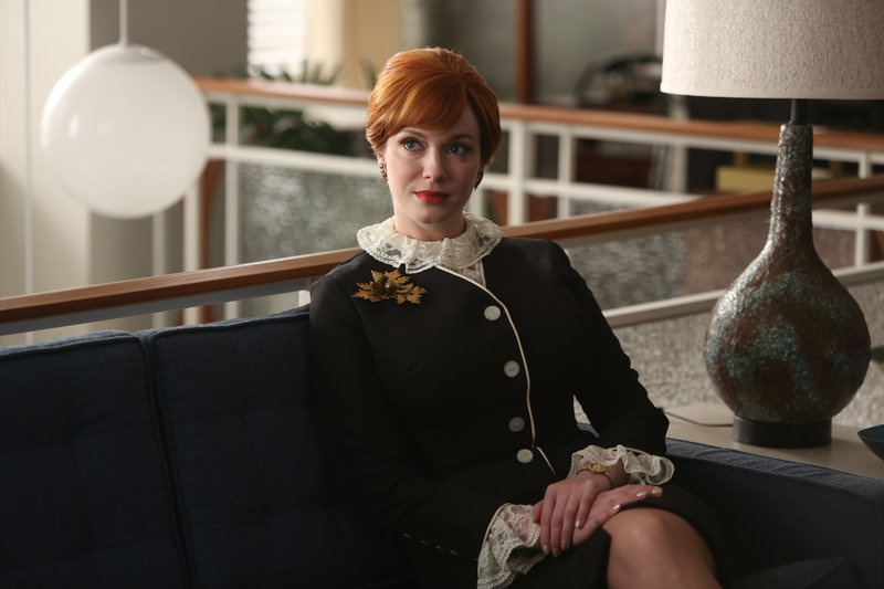 "Christina Hendricks in ""Mad Men."""