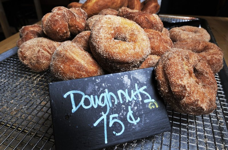 The doughnuts at Edna and Lucy's in Pownal make the critic's list of favorites.