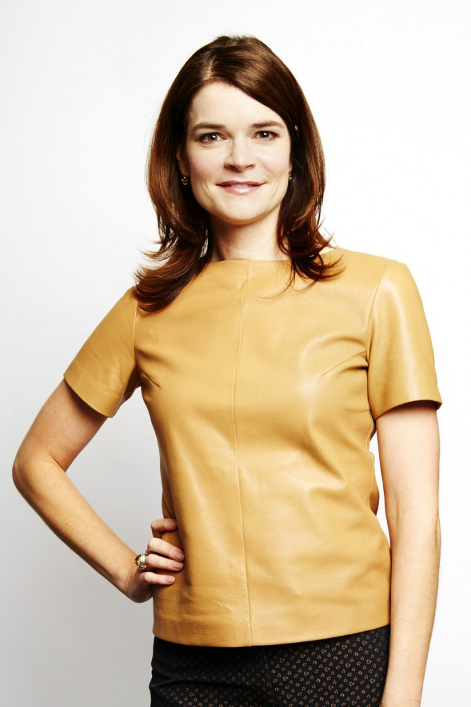 "Actress Betsy Brandt stars in the series ""Breaking Bad,"" which airs its finale Sunday."