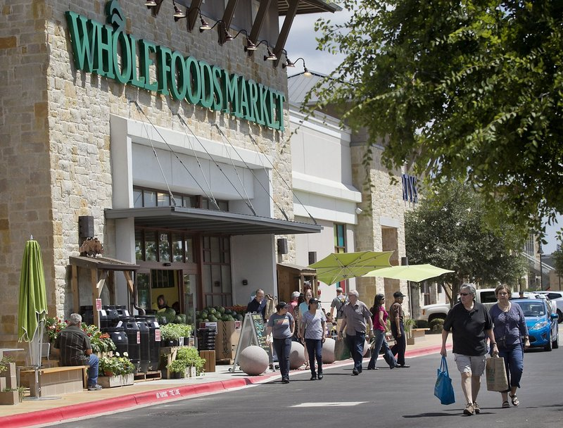 "Austin, Texas-based Whole Foods Market now has more than 350 stores and is posting record profits. ""When we take a step or a make decision, it gets reported on,"" said Whole Foods co-CEO Walter Robb."