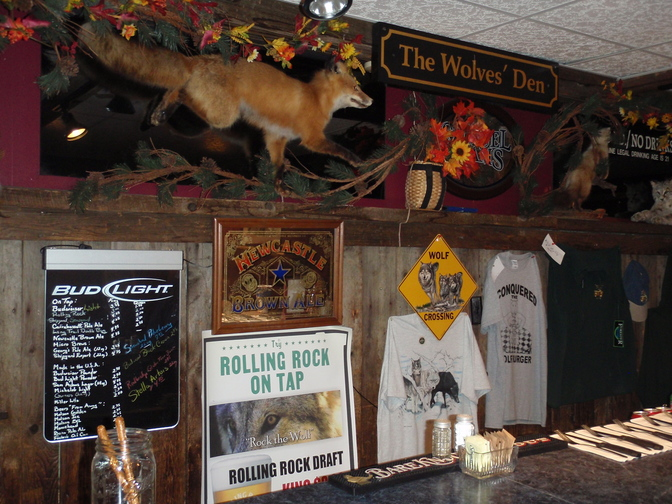 The White Wolf Inn in Stratton is a rural Maine outpost with funky decor and good, hearty, reasonably priced food.