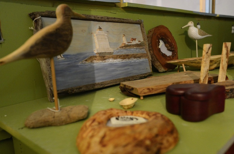 This 2012 file photo shows hand-crafted products at Tote Road in Biddeford. The store won the original
