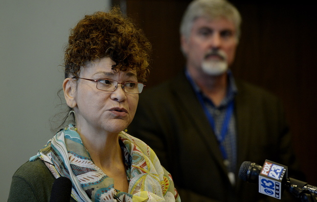 "Dianne ""dee"" Clarke of Portland, a former victim of sex trafficking, now works as an advocate for other victims."