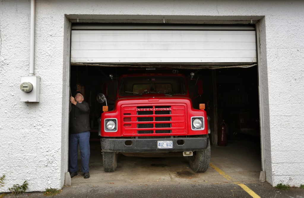 Jim Sholler, a former Oakfield selectman who chaired the town's wind farm review committee, says some of the money the town receives as part of its deal with First Wind will go toward purchasing a new fire truck and building a new station.