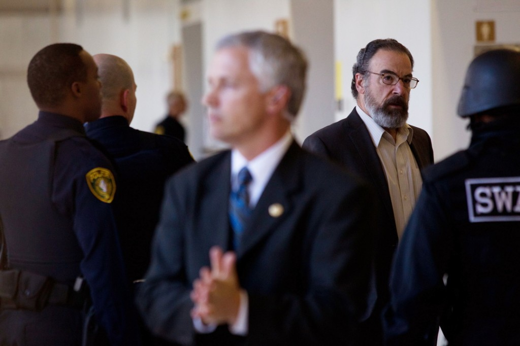 """Mandy Patinkin, right, as CIA Director Saul Berenson in the hit Showtime series """"Homeland."""""""