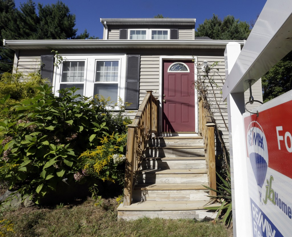 Brokers report strong buyer traffic in the Boston area, where this house in Walpole is on the market. Home prices in the nation have been rising at the fastest pace since 2006.