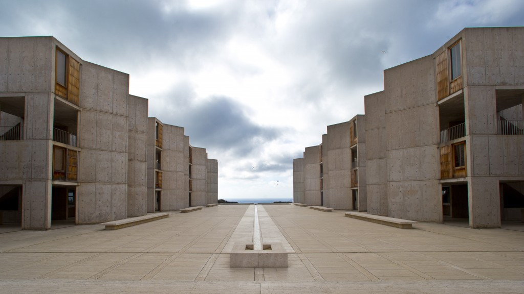 "The Salk Institute, designed by world renowned architect Louis I. Kahn, sits above the Pacific Ocean and adjacent to the glider port and the University of California San Diego in San Diego. The nation's eighth-largest city has matured from its ""Fast Times at Ridgemont High"" surf days. Today it boasts a burgeoning international art scene, thriving farm-to-table food movement, and a booming bio-tech industry."