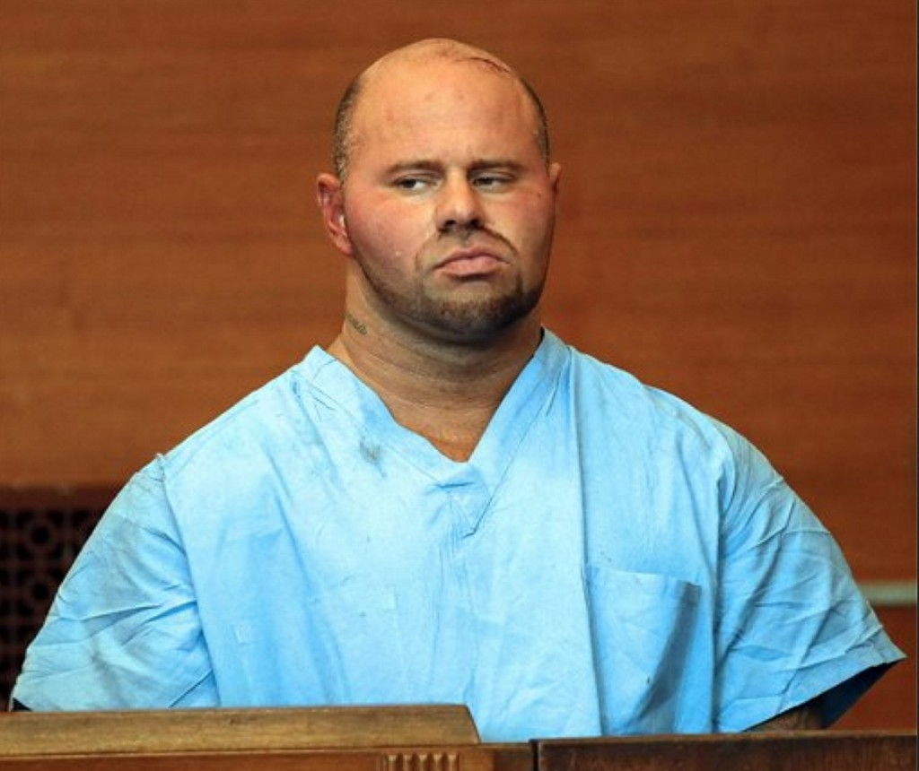 The Associated Press Authorities say Jared Remy stabbed Jennifer Martel, 27. at their Waltham apartment and was covered in blood when they arrested him there. A neighbor told police he tried unsuccessfully to pull Remy off Martel during the attack.