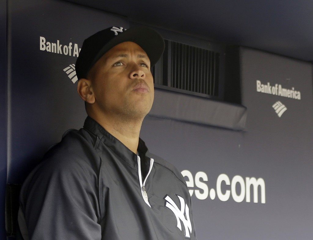 Alex Rodriguez of the Yankees has sued the Yankees and a NYC hospital for mishandling his injury in last year's playoffs.