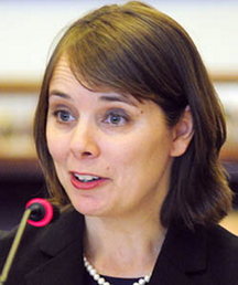 Shenna Bellows will challenge Susan Collins for her U.S. Senate seat.