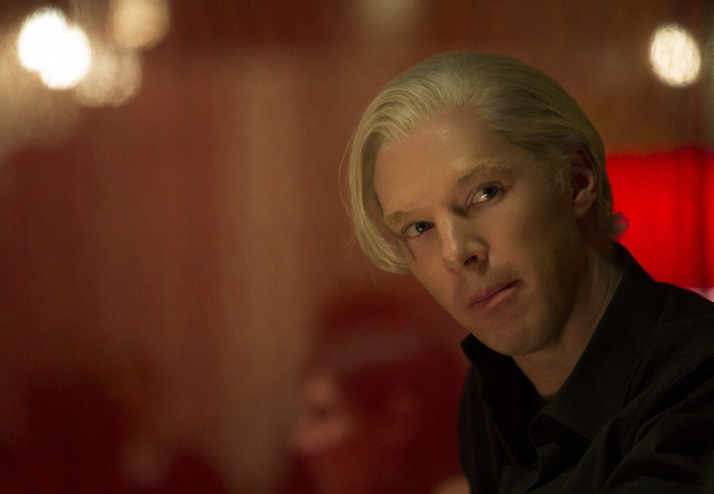 Benedict Cumberbatch portrays WikiLeaks founder Julian Assange in