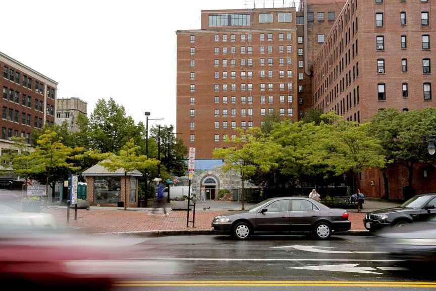 A judge's ruling Thursday clears the way for a petition effort that could ultimately undo the sale of Congress Square Plaza in Portland to an out-of-state developer.