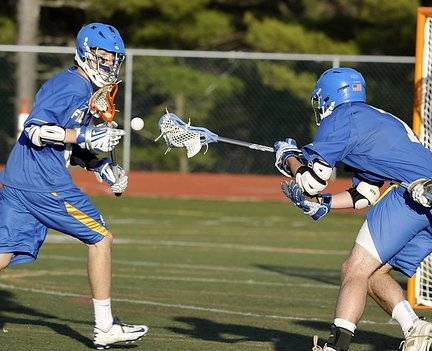 Lacrosse is risky for boys and girls alike, according to researchers who include the sport among those most likely to result in concussions for high school players.
