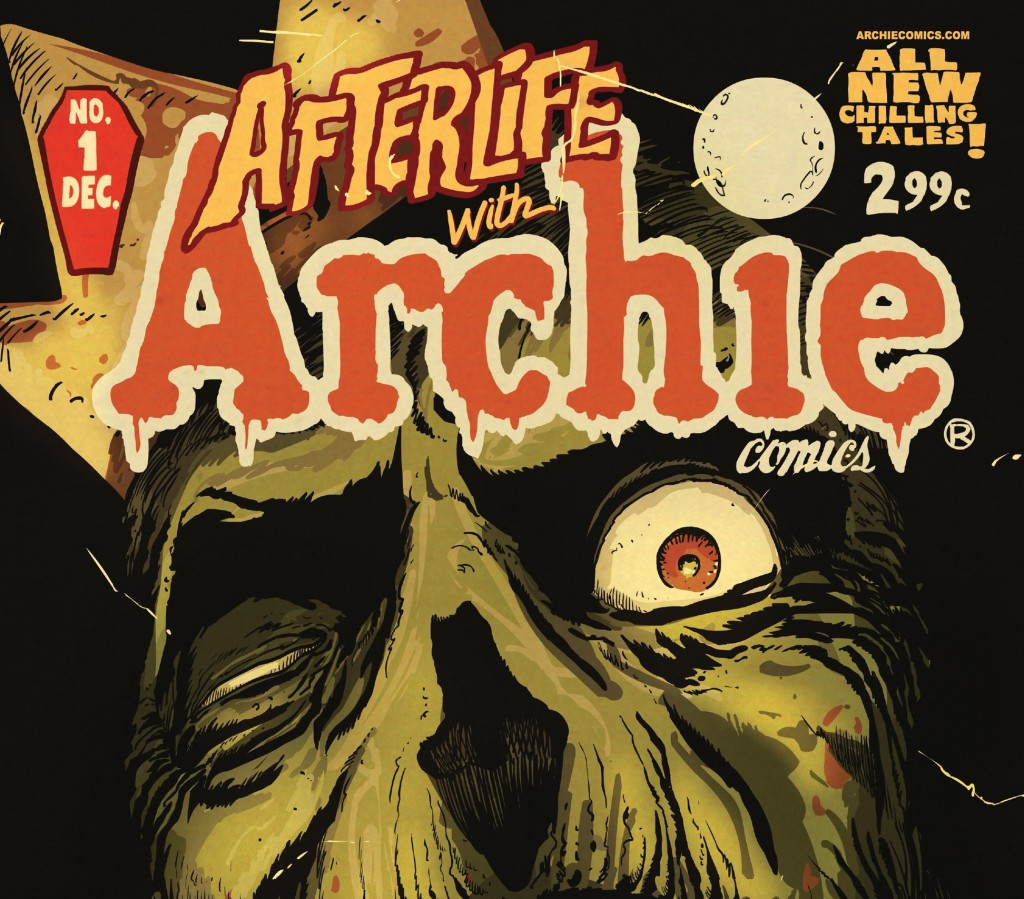 "This image released by Archie Comics shows ""Afterlife With Archie,"" a series debuting Wednesday."