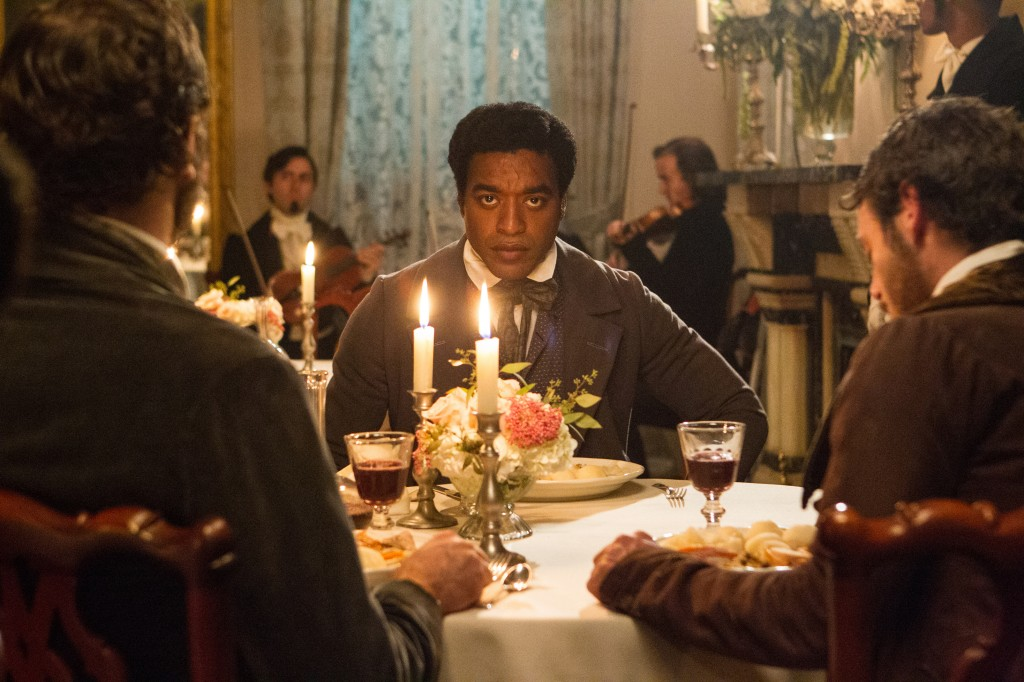 "Chiwetel Ejiofor stars in ""12 Years A Slave,"" Steve McQueen's unblinking portrait of mid-19th-century slavery."