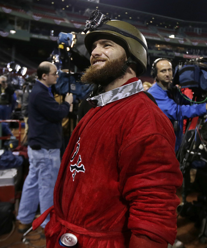Jonny Gomes is one of the many newcomers who have played big roles on the field for the Red Sox while also changing the culture in the clubhouse.
