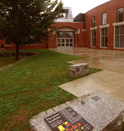 If Saco pulls out of RSU 23, it would have a new, $100 million contract with Thornton Academy, above, to educate high school students for the next decade.