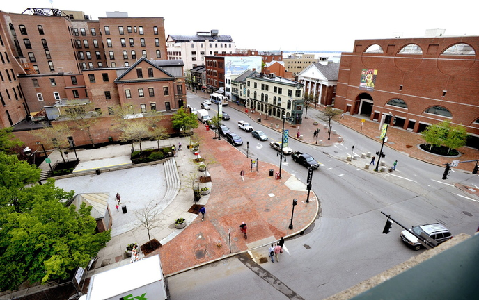 "The sale of part of Congress Square Plaza, above, is an example of efforts by the City Council ""to turn Portland's peninsula into an amusement park where no one can live,"" a reader says."