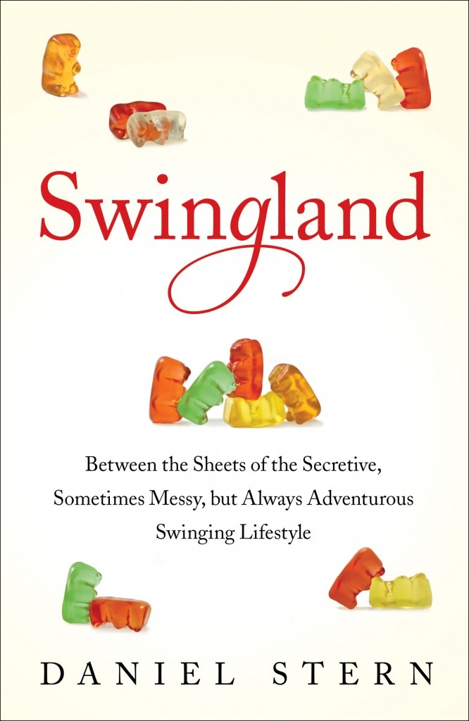 """This image provided by Simon & Schuster shows the book cover for ìSwingland: Between the Sheets of the Secretive, Sometimes Messy, but Always Adventurous Swinging Lifestyle"""" by Daniel Stern."""