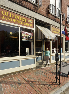 Old Port Sandwich Shop on Market Street in Portland has a variety of breakfast and lunch fare.